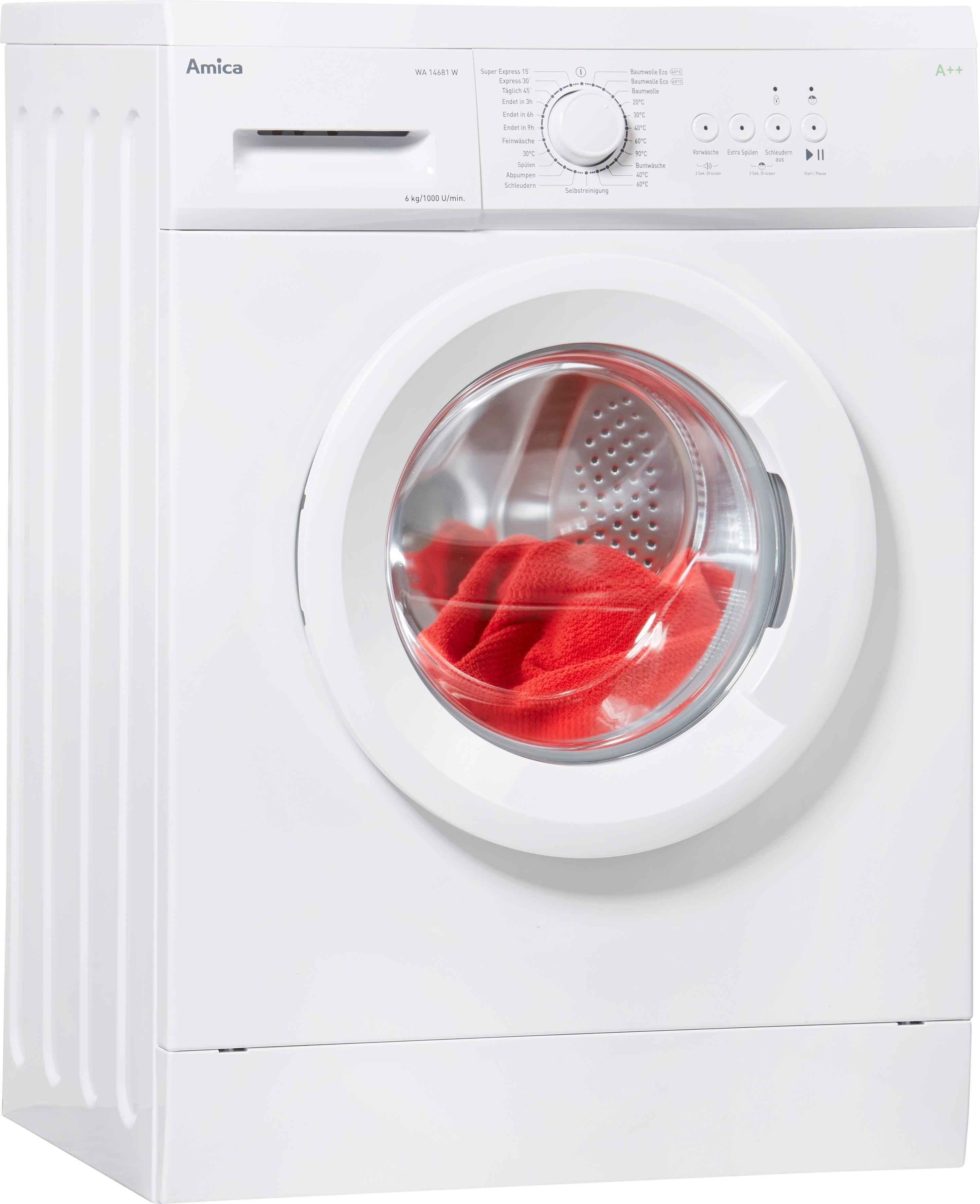 Amica wasmachine WA 14681 W goedkoop op otto.nl kopen