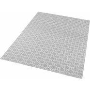 vloerkleed, »novalie«, freundin home collection, rechthoekig, hoogte 4 mm, machinaal geweven grijs