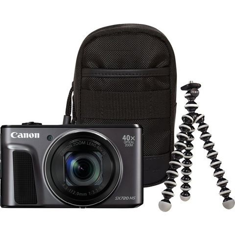 Canon PowerShot SX720 HS compact camera Zwart Travel Kit