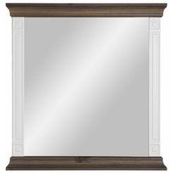 home affaire spiegel »vinales«, hoogte 86 cm, van massief grenen wit