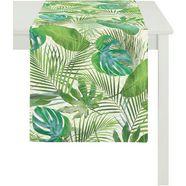 tafelloper, »9586 summer garden«, apelt (per stuk) groen
