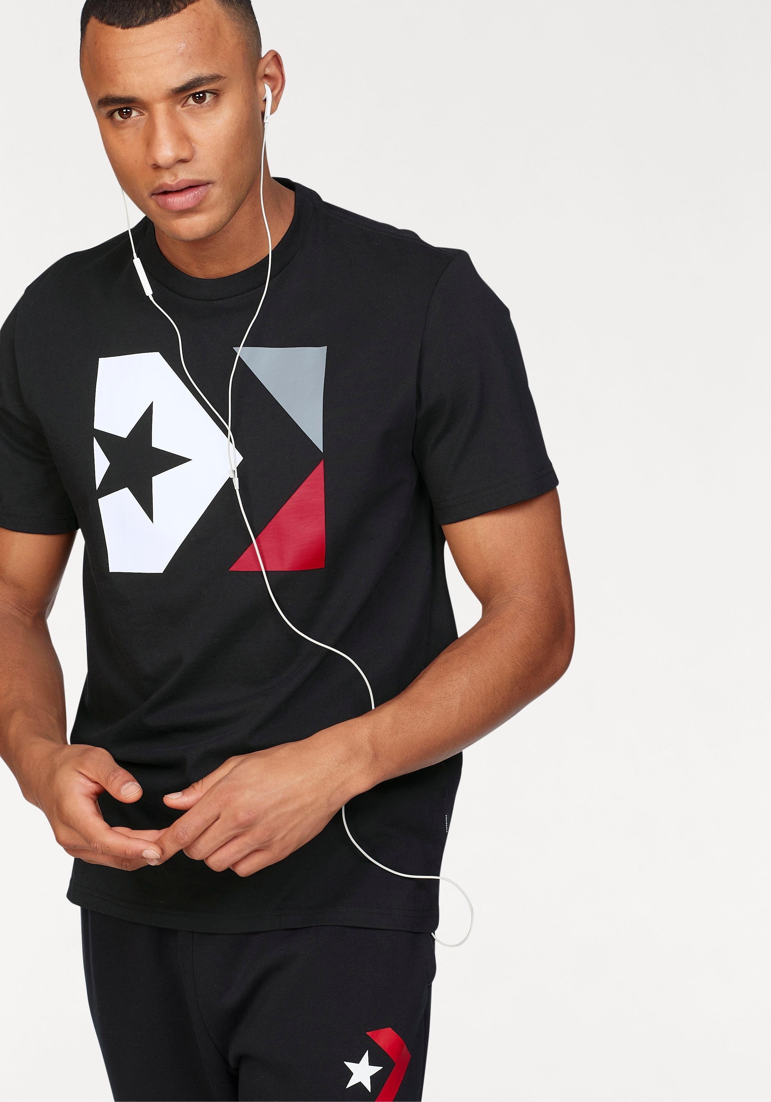 Op zoek naar een Converse T-shirt »CONVERSE STAR CHEVRON BOX TEE«? Koop online bij OTTO