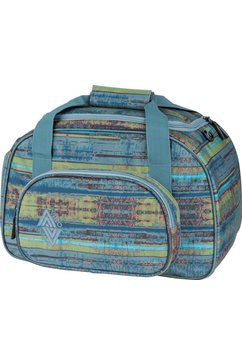 nitro reistas, »duffle bag xs frequency blue« blauw