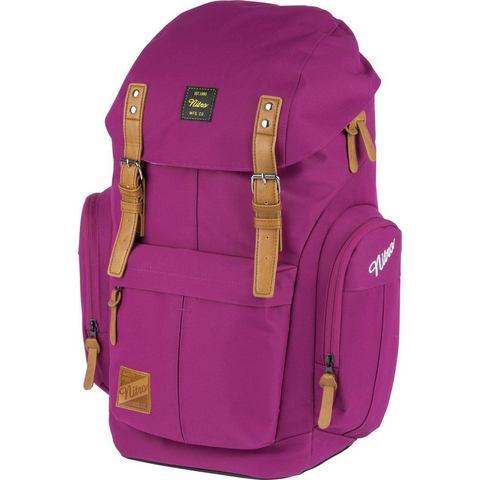 Nitro rugzak met laptopvak voor laptop van 15 inch, Daypacker Grateful Pink
