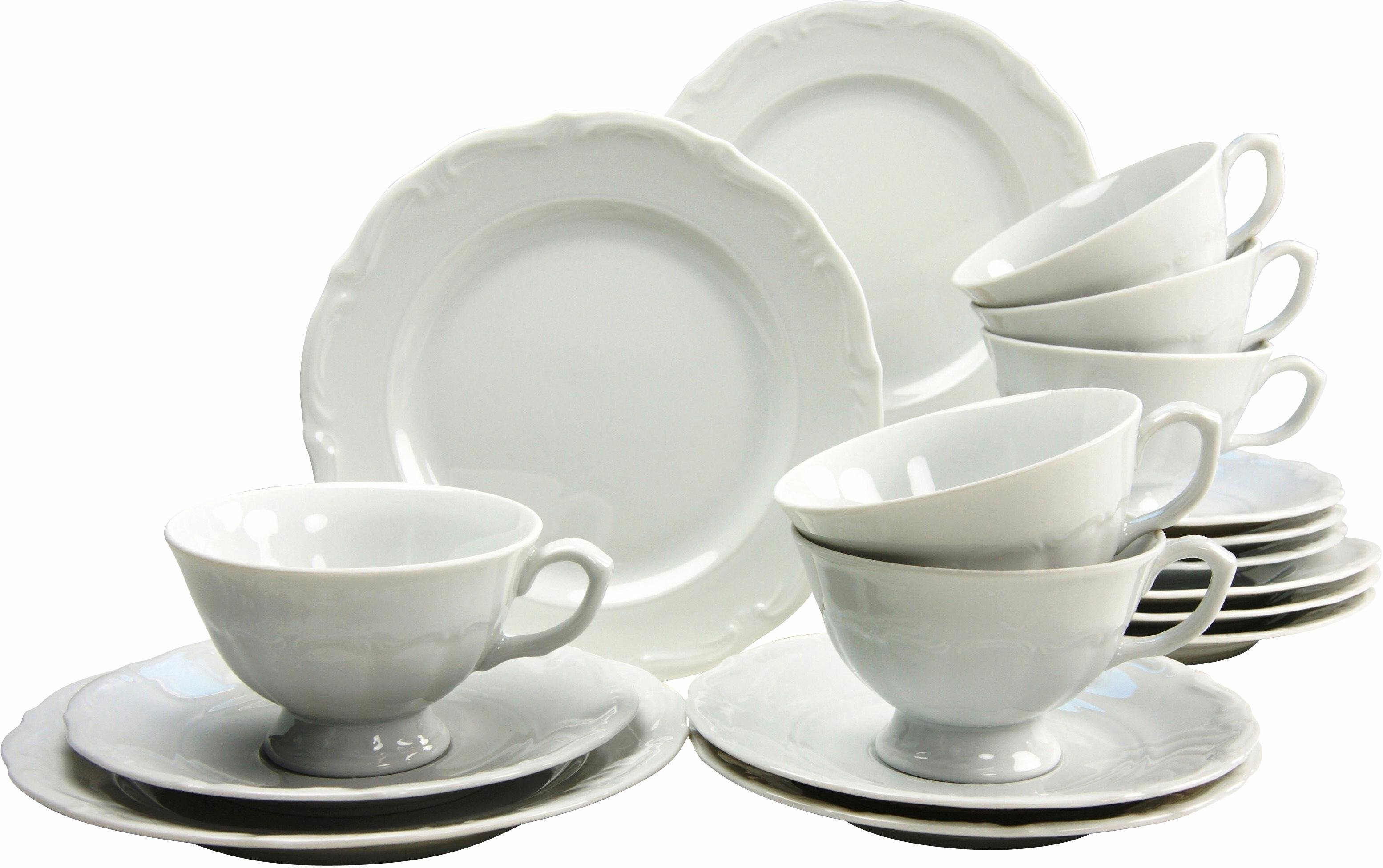 CreaTable koffieservies 'Maria Theresia' (18-delig) online kopen op otto.nl