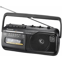 panasonic rx-m40de-k mono radiorecorder zwart