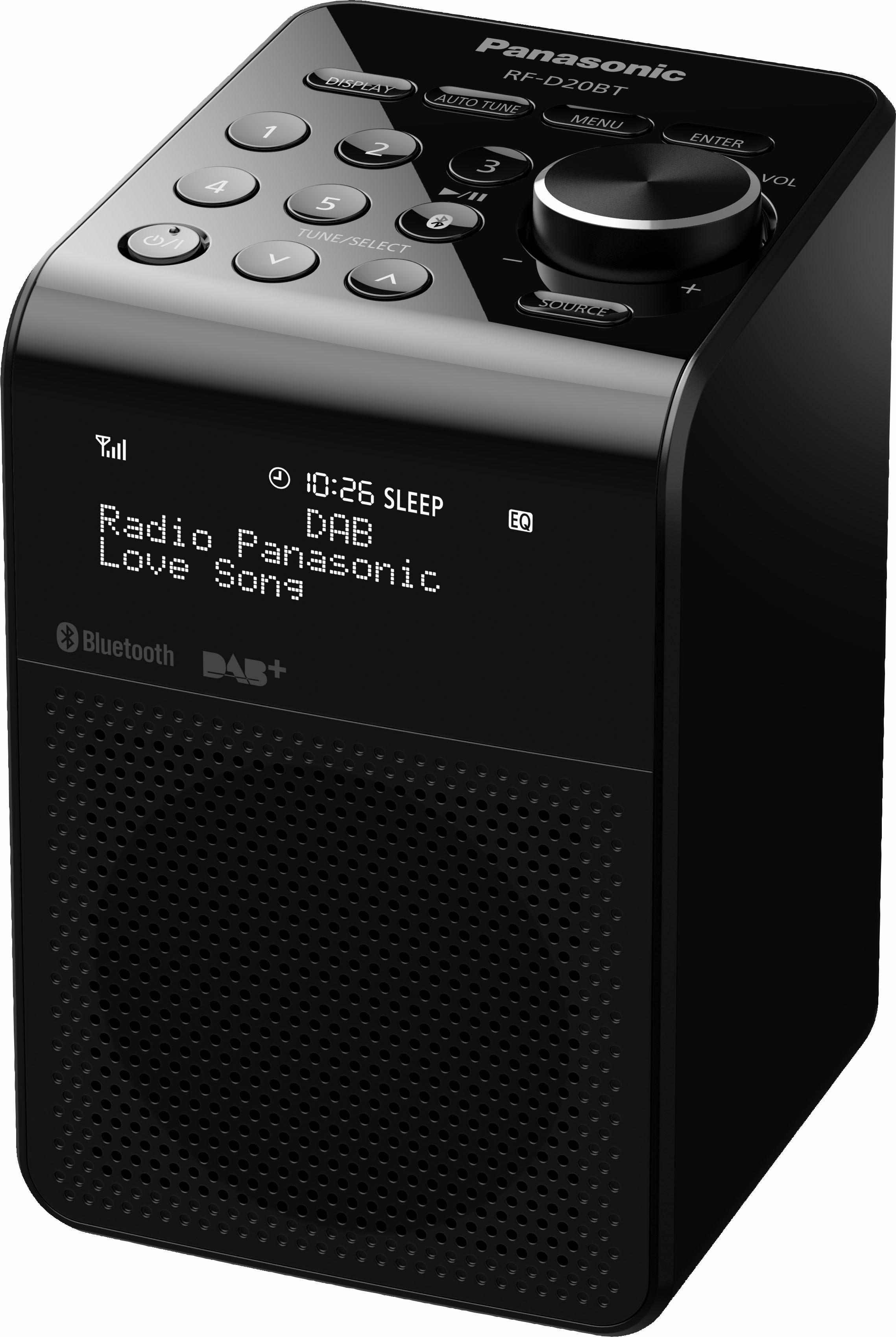 Panasonic »RF-D20BT« radio (bluetooth, digitale radio (DAB+), FM-tuner met RDS, 3 W) online kopen op otto.nl
