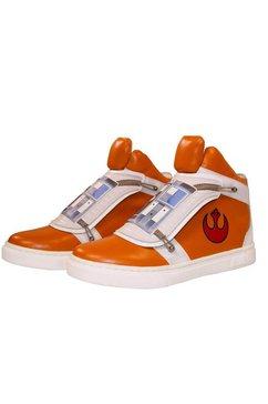 musterbrand sneakers »set: skywalker x-wing« oranje