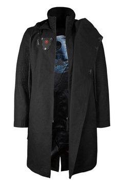 musterbrand trenchcoat »sith lord limited edition« zwart