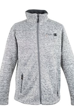 deproc active tricot-fleecejack »whiteford men« zilver