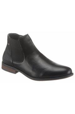 tom tailor chelsea-boots met karakteristieke stretchinzet zwart