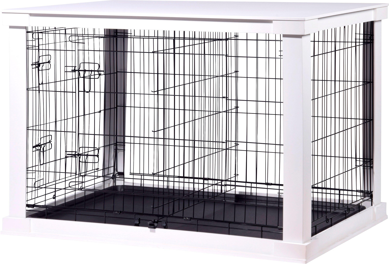 Dobar Hondenbench L, bxlxh: 73x110x76 cm, wit - gratis ruilen op otto.nl
