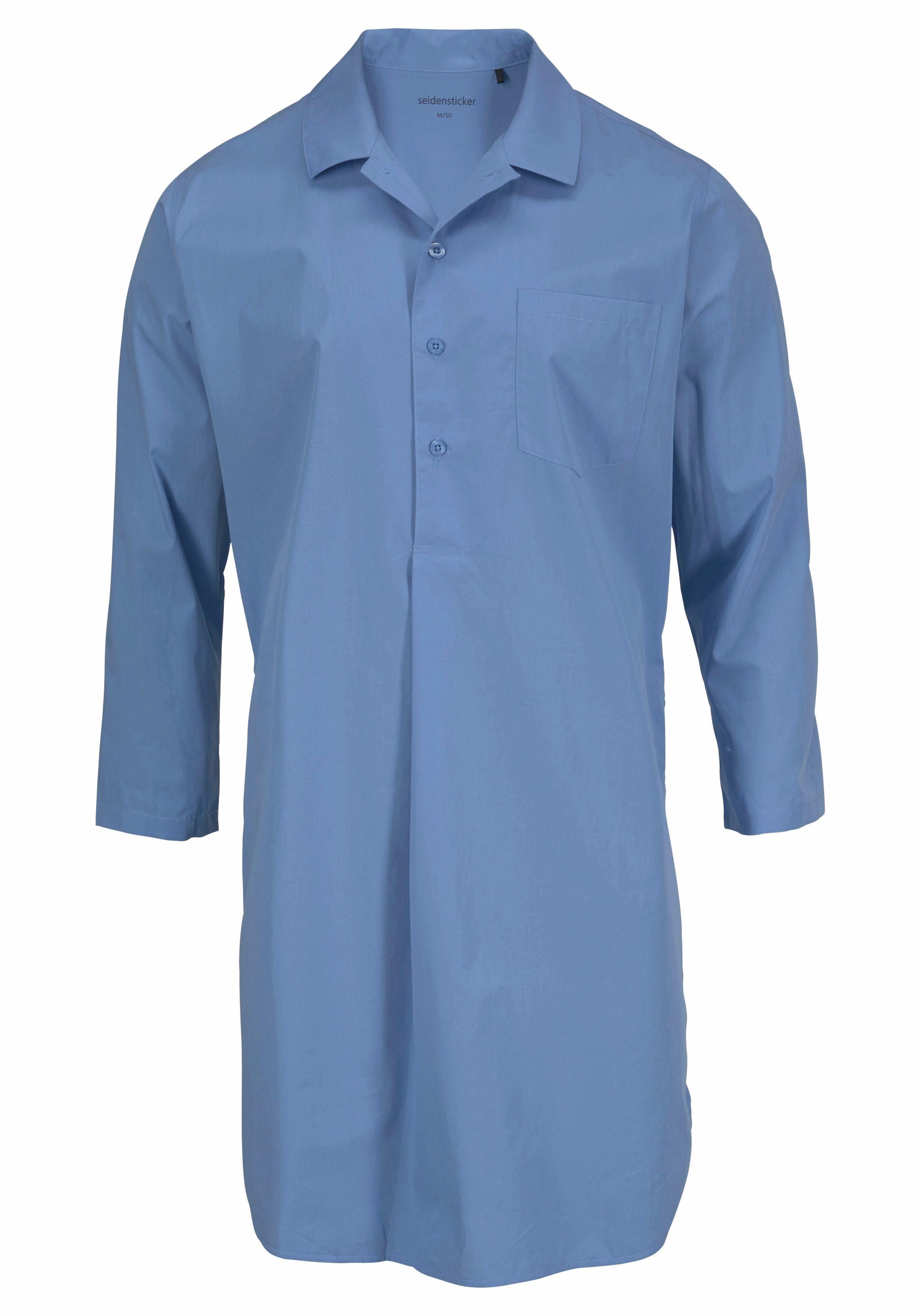 Voor Besteld Seidensticker Makkelijk Van Geweven Heren Nachthemd bvYg6mIfy7