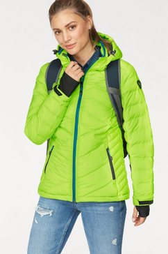killtec ski-jack »hilja« groen