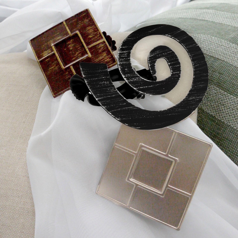 Decoratieve embrasse, good life, »Helix«, voor stoffen en gordijnen ...