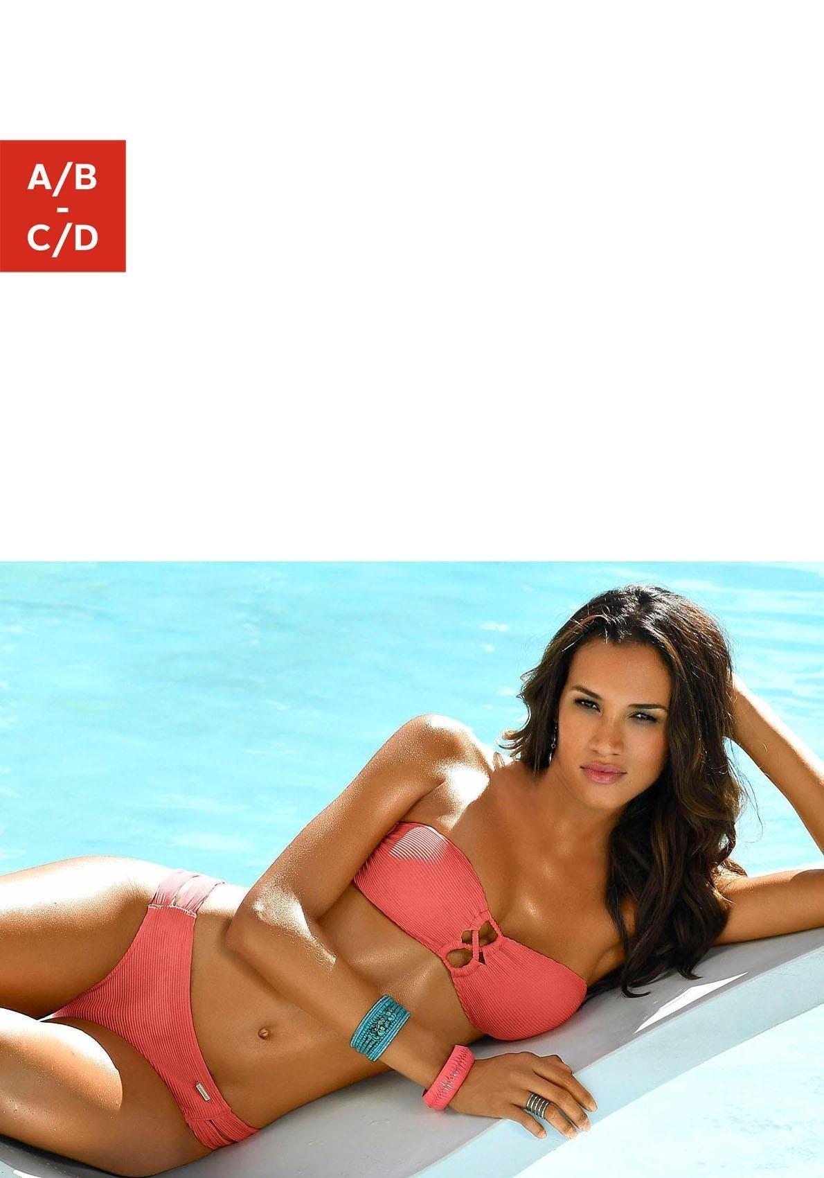 Sunseeker bandeau-bikinitop Fancy met modieuze siersluiting nu online kopen bij OTTO