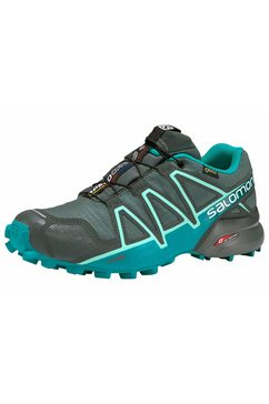salomon runningschoenen »speedcross 4 gore-tex wmns« groen