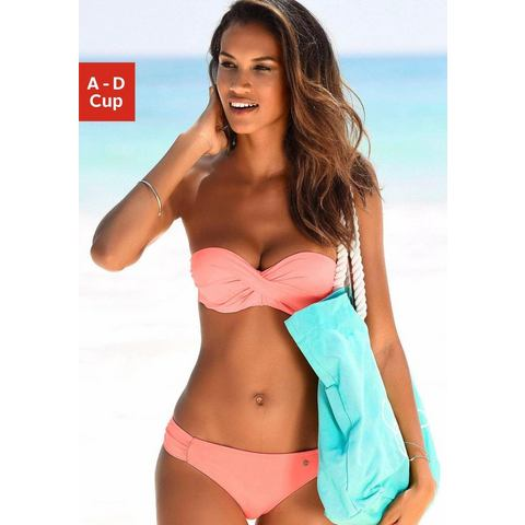 NU 15% KORTING: s.Oliver RED LABEL Beachwear beugelbikini in bandeaumodel (2-delig)