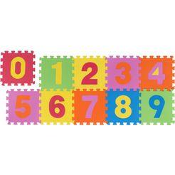 vloerkleed voor de kinderkamer, »puzzle«, andiamo, rechthoekig, hoogte 10 mm, machinaal vervaardigd multicolor