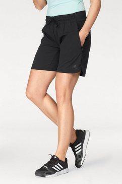 adidas performance korte sportbroek »knee lngth shrt« schwarz