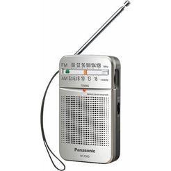 panasonic radio rf-p50deg automatische frequentieregeling (afc) zilver