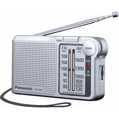 panasonic radio rf-p150deg automatische frequentieregeling (afc) zilver