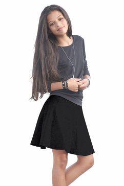 arizona skaterrok in wijd model zwart