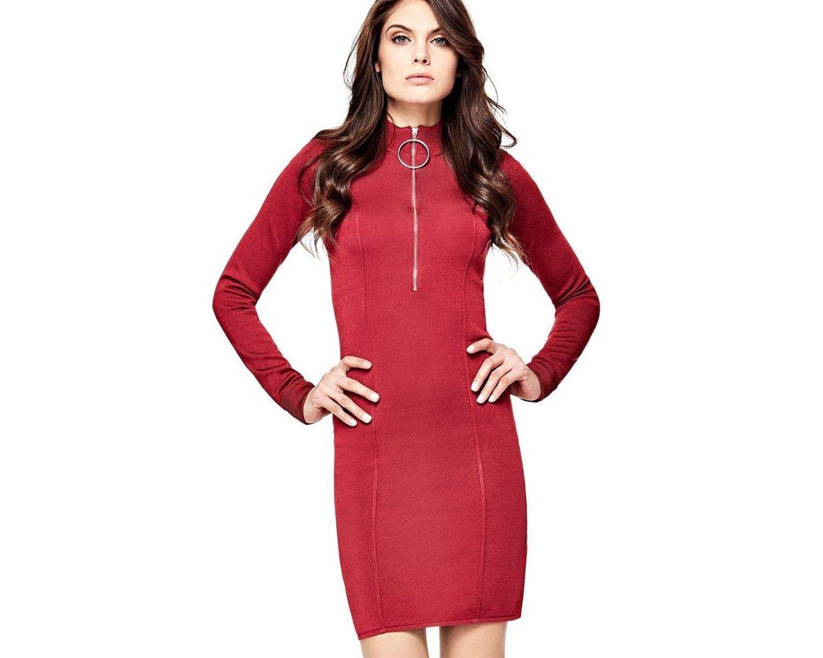 NU 21% KORTING: Guess jurk in A-lijn rood