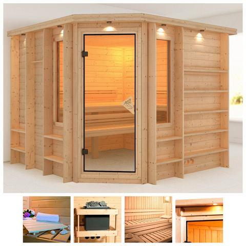 Sauna Marona Massieve 40mm Sauna Wanden Karibu