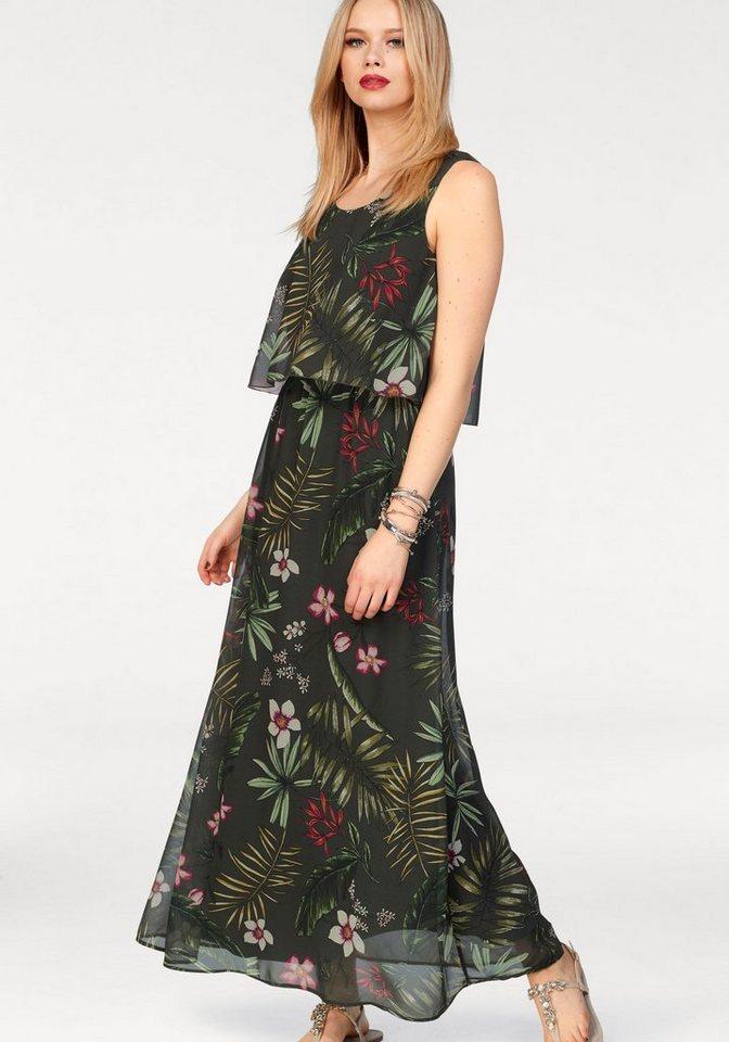 ONLY maxi-jurk MAYA groen