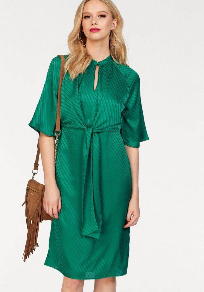Vero Moda satijnen jurk GIGI groen