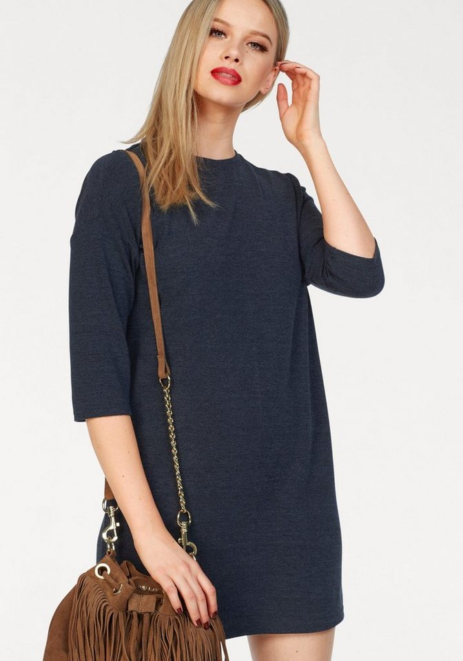 Vero Moda tricotjurk GABI blauw