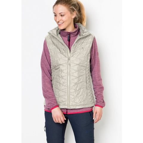 NU 20% KORTING: JACK WOLFSKIN outdoor-bodywarmer GLEN VEST WOMEN