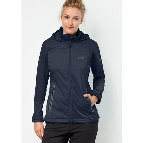 JACK WOLFSKIN softshell-jack »CUSCO VALLEY WOMEN«