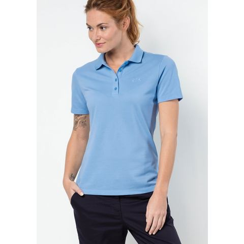 Jack Wolfskin shirt PIQUE POLO WOMEN
