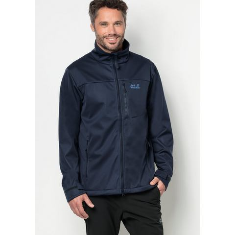 JACK WOLFSKIN softshell-jack »THE EMERALD MEN«