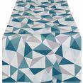home affaire tafelloper met geometrische print (1 stuk) multicolor