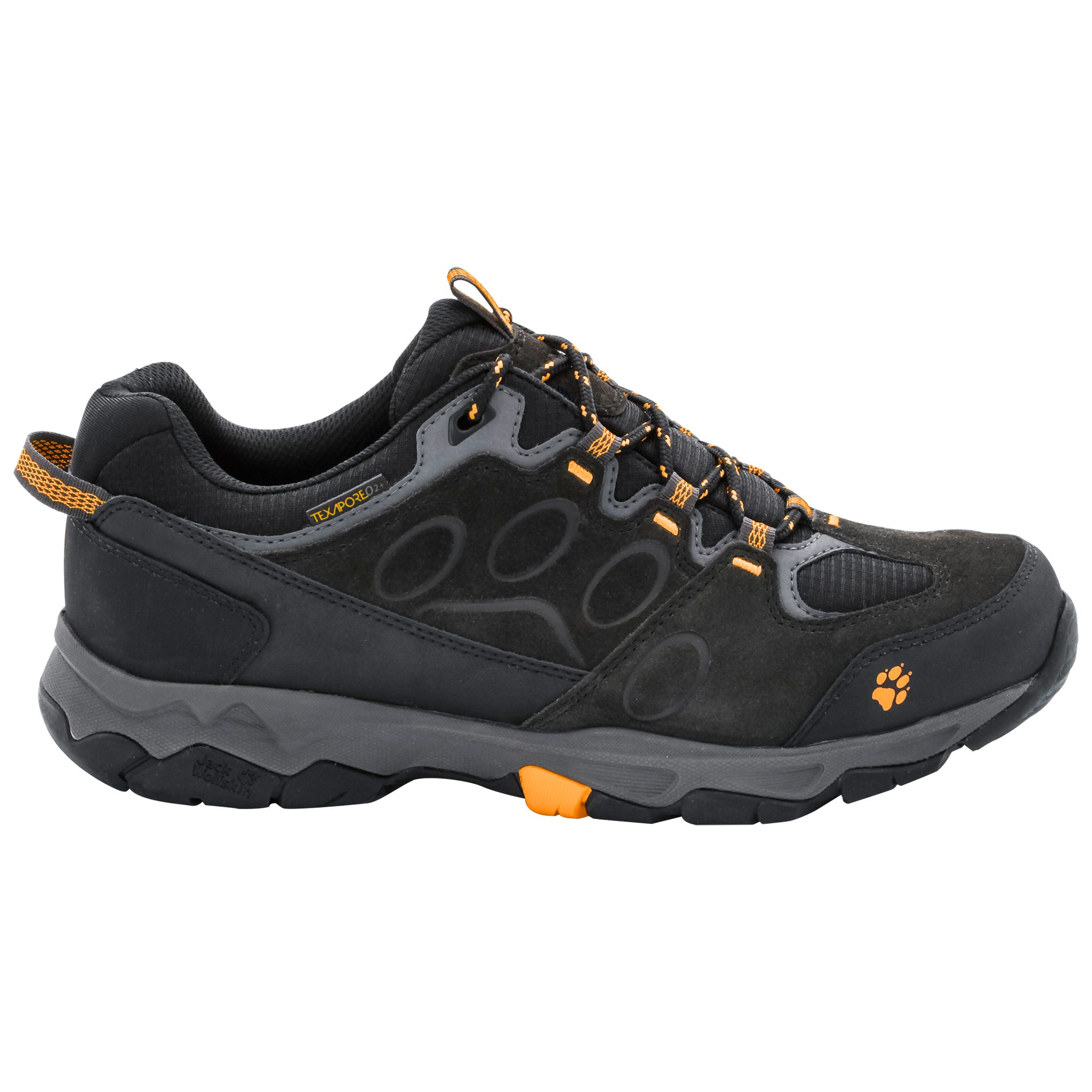 Black Jack Wolfskin Chaussures Texapore Pour Les Hommes t4PWN14