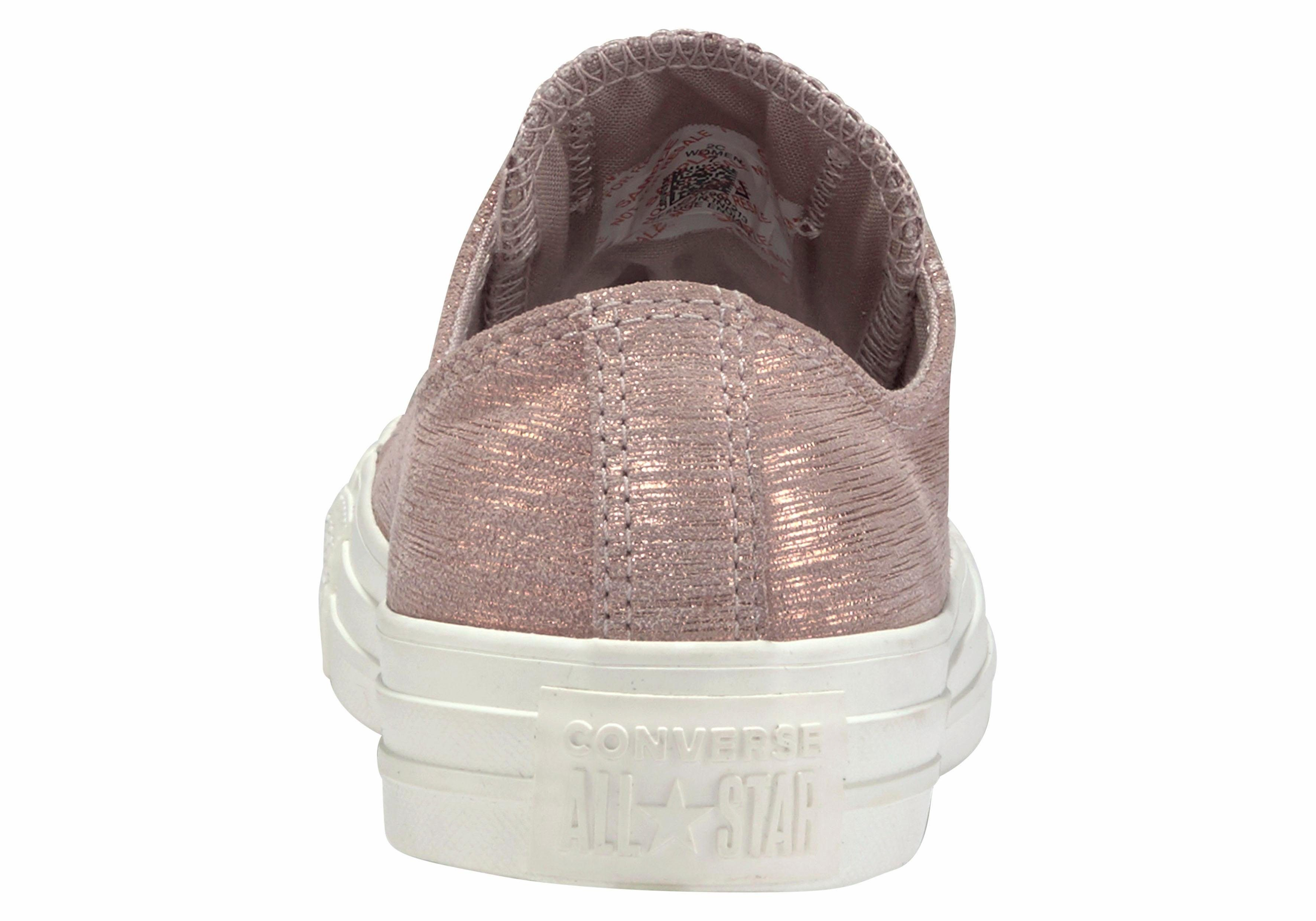 converse all star metallic roze