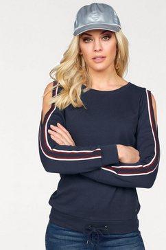 arizona sweatshirt »met uitsparing op de schouders« blauw