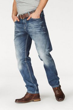 cipo  baxx loose fit jeans blauw