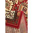 my home vloerkleed diantha orint-decor, woonkamer rood