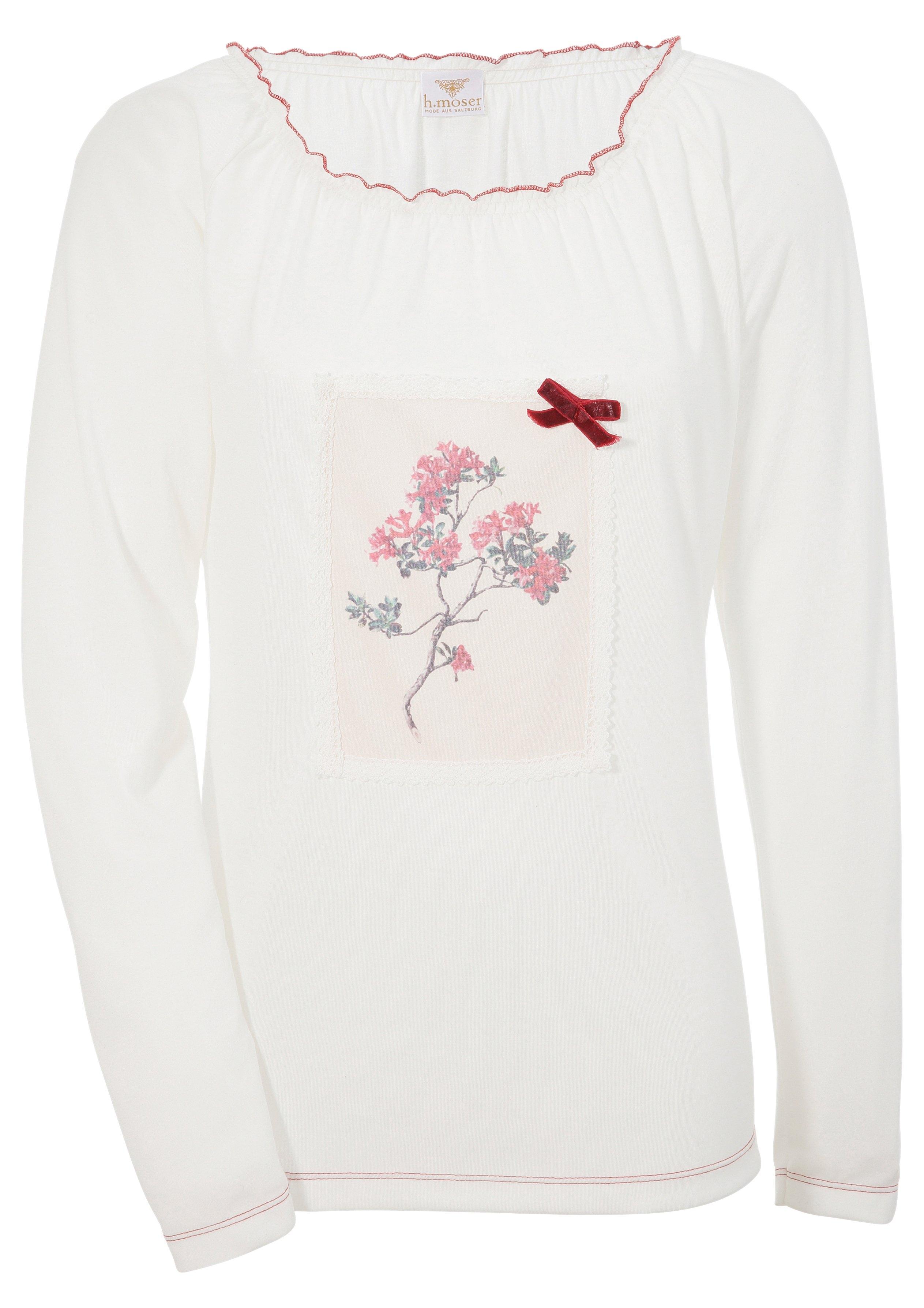 H.moser Hohenstaufen folklore-damesshirt met decoratieve print goedkoop op otto.nl kopen