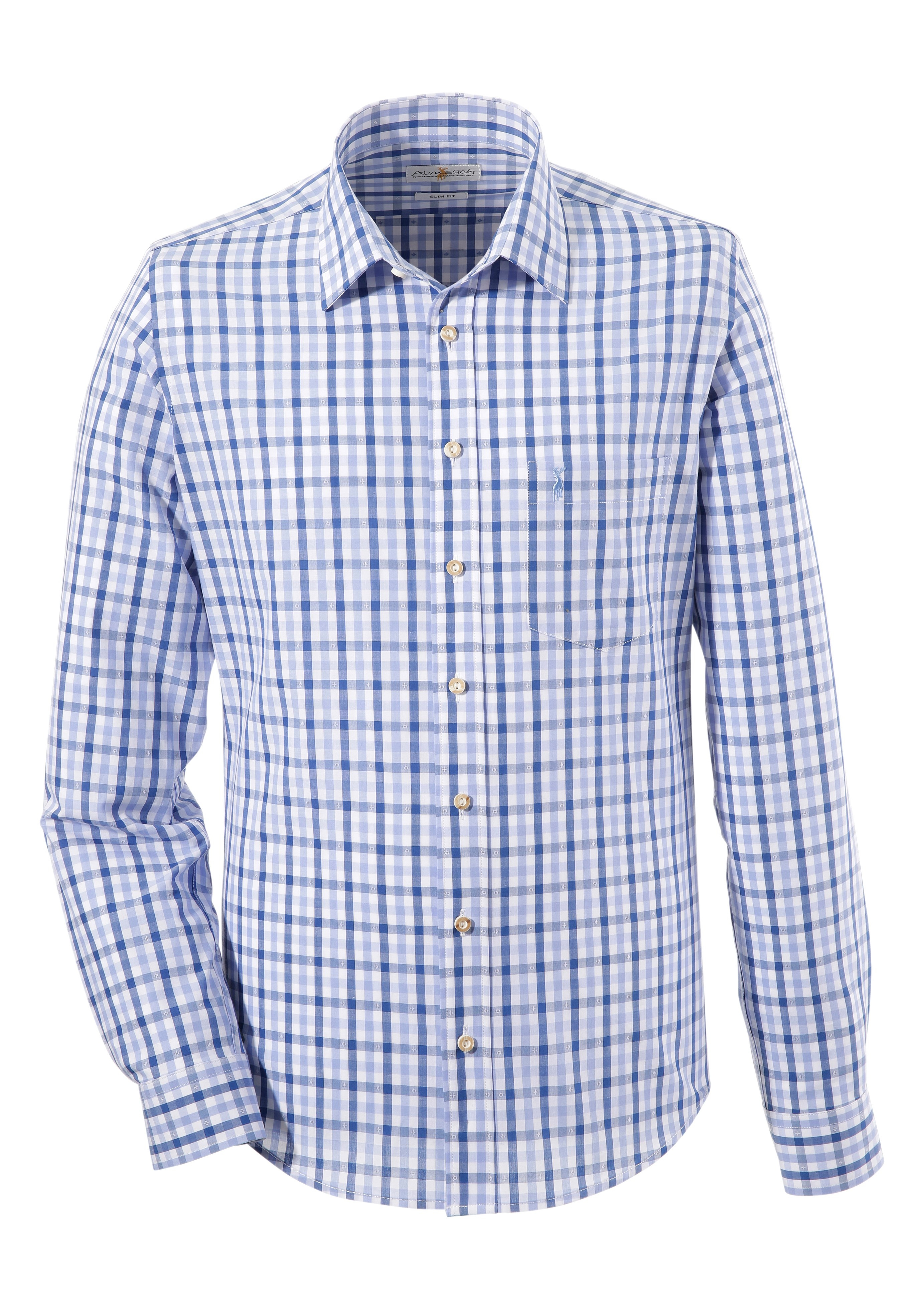Almsach folklore-overhemd, smal model in de webshop van OTTO kopen