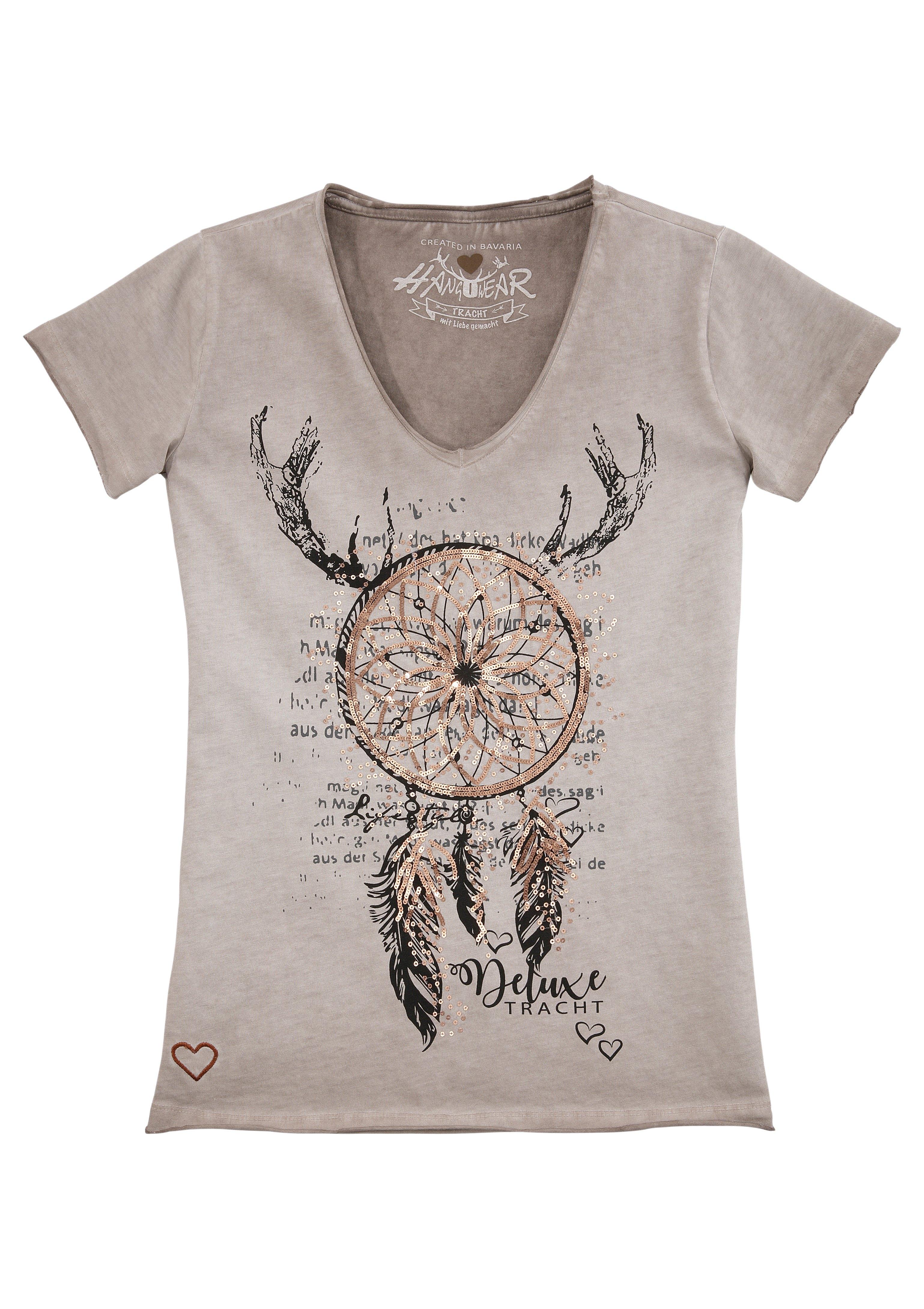 Hangowear folklore-damesshirt in used-look - verschillende betaalmethodes