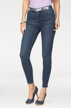 lee slim fit jeans »scarlett« blau