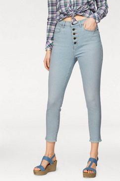 wrangler stretch jeans »super high skinny« blauw