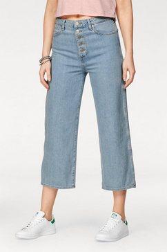wrangler boyfriend jeans »retro crop boyfriend« blauw