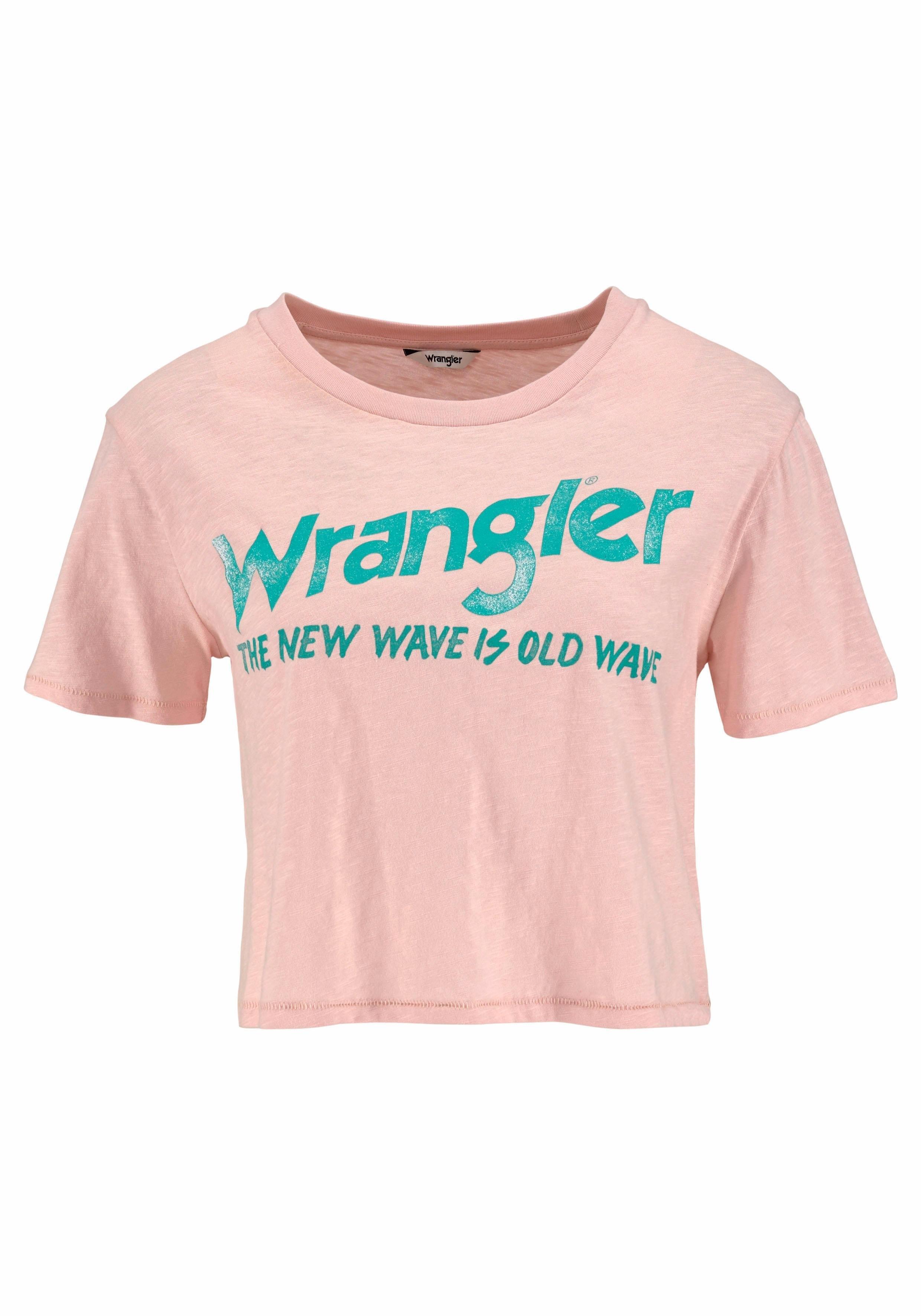Tee T Online Wrangler Bestellen shirtcrop n0PXwk8O