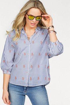 lee gedessineerde blouse wit